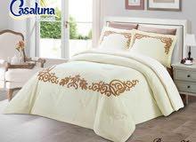 جديد وفخم أطقم سرير حجم مزدوج ماركةCasaluna __ألوان وتشكيلات حديثة