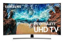"""شاشة سامسونج 65 انش 4K منحنية موديل 2018 Samsung Curved 65"""" 4K UHD 8 Series"""
