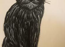 لوحة فنية للبيع (مقاس:40x60cm)