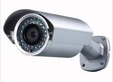 اربع كاميرات 5 ميجا مع هارديسك 2000 جيجا مع dvr 4 port مع كفالة بسعر مغري