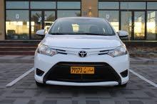 تويوتا ياريس مديل 2016 خليجي نضيف جداً وحالة السيارة ممتازة