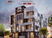 شقة مساحة 110 م في التجمع الخامس بكمبوند متكامل الخدمات و كل عمارة هتخدم سكانها!.