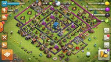 لعبه clash of clans.