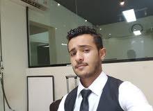مقيم يمني باقامة سارية قابلة للنقل مظهر انيق ومرتب ابحث عن شغل كاشير