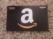 قيفت امازون كارد Gift amazon card
