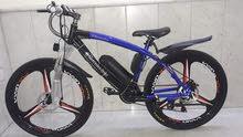 دراجة مارسيدس الكهربائية والهوائية معاً