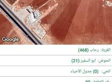 قطعة أرض الموقع مخدوم وبيجنن للبيع في المفرق رحاب بني حسن 4 دلمات مفروزة