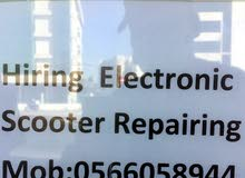 hiring Electrical Scooter Repairing