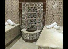 الحمام المغربي وأعمال الديكور والجبص