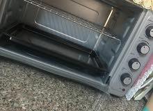 فرن كهربائي مع شوايه نوع ساميكس مميز و استعمال بسيط جدا
