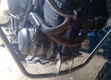 سبور ياماها XT600 دراجة نظيفة والصلاة على النبي وكل شي سغال فيها