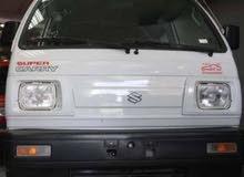سيارة سوزوكي فان 7 راكب بالسائق متاحة للعمل في الشركات أو مصانع ورادي نقل موظفين