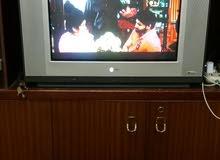 "LG 25"" FLATRON TV with star gold receiver + antenna(3m)"