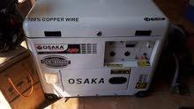 مولد كهرباء 6.5 كيلو ديزل سايلنت نوع OSAKA