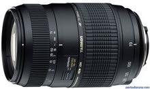 عدسة كاميرا تامرون 70-300 لل نيكون