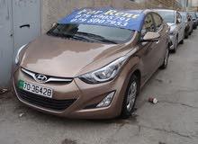 Hyundai Elantra 2017 For Rent - Brown color
