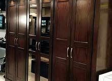 غرفة نوم ماستر وكاملة تفصيل بدقة عالية وتصاميم مميزه ورائعه