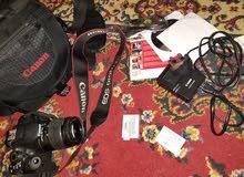 كانون 700D + 18-55 lens