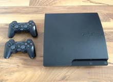 بلي3سلم مستعمل ب حالة جيدة جدا play 3 كامل بي ألعاب ب225الف