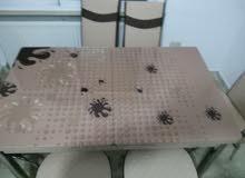 طاولة سفرة مع 6 كراسي / نظام تركي