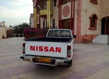 White Nissan Pickup 2001 for sale
