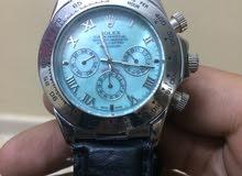 ساعة رولكس طبق الاصل جودة عاليه مستعمله