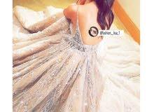 فستان شبكه أو ملكه