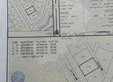 ارض للبيع سكنيه مساحتها 600 متر رقمها 2795 الموقع ولاية سمائل السحاماه