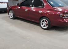 Automatic Maroon Hyundai 1995 for sale