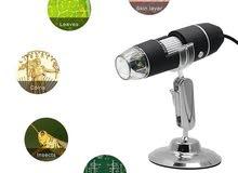 Wsdcam 1000X USB Digital Microscope. مكروسكوب تكبير الصورة 1000 مرة