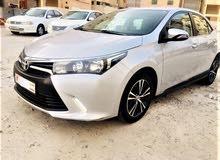 Toyota Corolla X 2016 Model Full Option car for sale