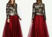 فستان تركي  بحالة جيدة للبيع