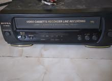 Video Cassette recorder and video player and line recording urgent sale price ne