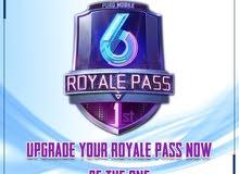 اشتري الرويال باس Royale Pass للموسم السادس وارفع الـ RP الخاص بك