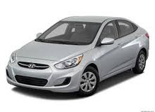 Hyundai Accent 2016 For Rent - Grey color