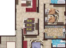 شقة 185م بالشروق بحري واجهه رئيسية