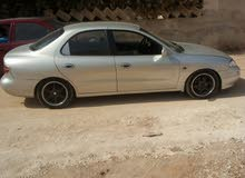 Silver Hyundai Avante 1997 for rent
