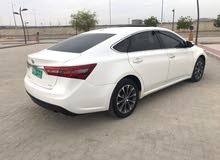 White Toyota Avalon 2016 for sale