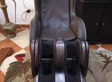 كرسي مساج طبي وملحق مساج للرجل