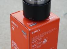 عدستين Sony 50mm f1.8 oss + sony kit lens