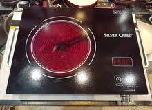 طباخ هالوجيني يعمل على جميع المعادن سطح زجاجي حراري