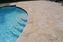 تشكيلة مميزة من الحجر الطبيعي يمكن تركيبه في كافة الواجهات والأرضيات داخلية وخارجية