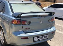 Mitsubishi Lancer 2011 For sale - Turquoise color