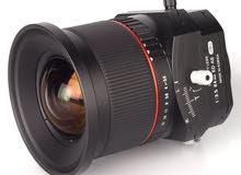 Samyang 3.5/T-S24mm for canon عدسة ساميانك لكاميرات كانون