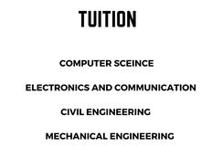 ENGINEERING TUITIONS AND ENTRANCE COACHINGS AVAILABLE