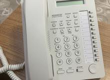 تلفون ارضي بناسونيك جديد سعر الشراء ب24 بداله