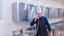 شيف طباخ طبخ عالمي يبحث عن عمل