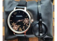 pack CHANEL ( montre + braclete + bague