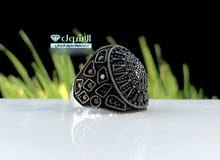 #عرض_العيد مجموعة من ارقى الخواتم الفضة الشبابي,, بتصميمات حديثة وفريدة فقط ب