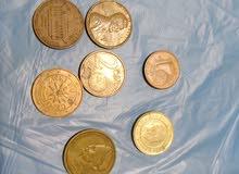 عملات معدنية للبيع
